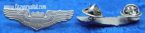 Aviator Pilot Wings Lapel Hat Cap Tie Pin Badge Army Nay Air Force Brooch